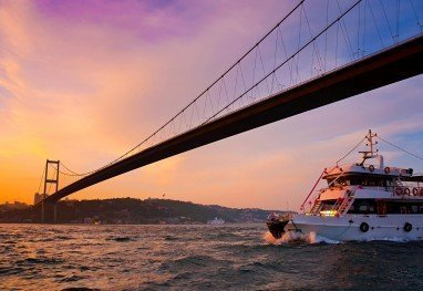 Short Guided Bosphorus Boat Tour